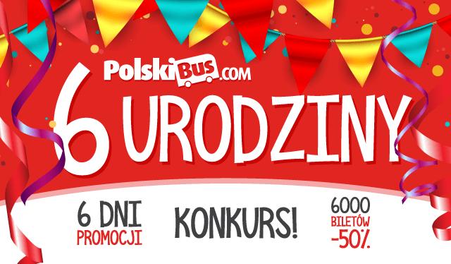 Акция! День рождения Polski bus – из Польши в  Берлин на 50% дешевле!