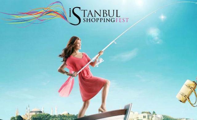 Рай для шопоголиков — фестиваль шоппинга в Стамбуле.