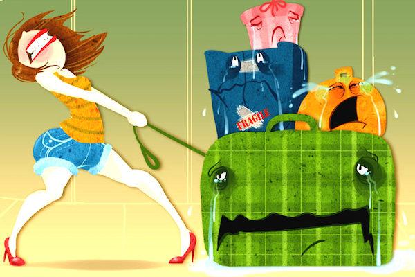 Как не потерять багаж по собственной вине?