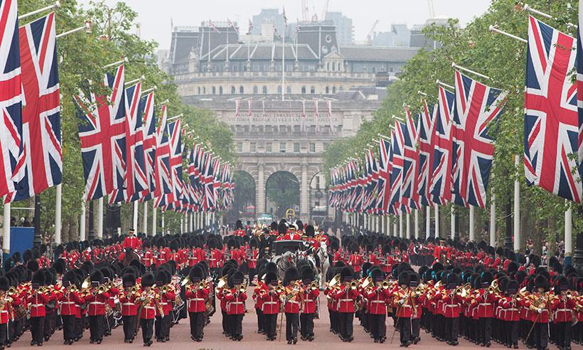 парад в англии