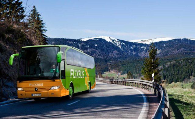 Акция! Распродажа билетов на автобус от flixbus.