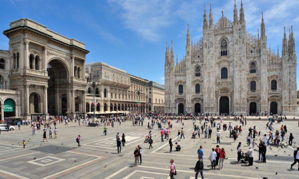 Дешево! Прямой перелет Москва — Милан 40€ в одну сторону.