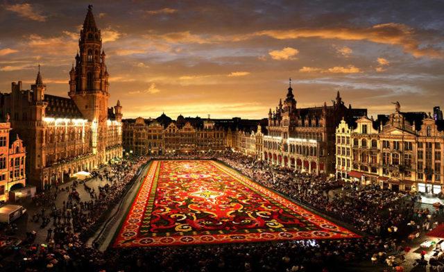 Перелёт Гамбург – Брюссель всего за 2,5 евро!