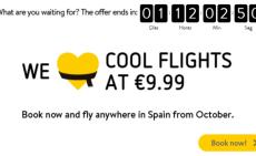 Чего вы ждёте? Билеты от Vueling по €9,99!