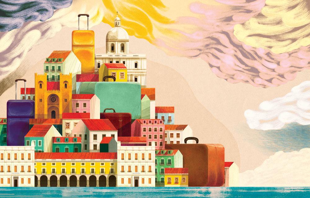 Aegean Киев-Лиссабон-Киев за 124 евро!
