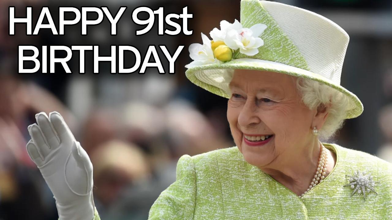 Поздравление от королевы елизаветы 90
